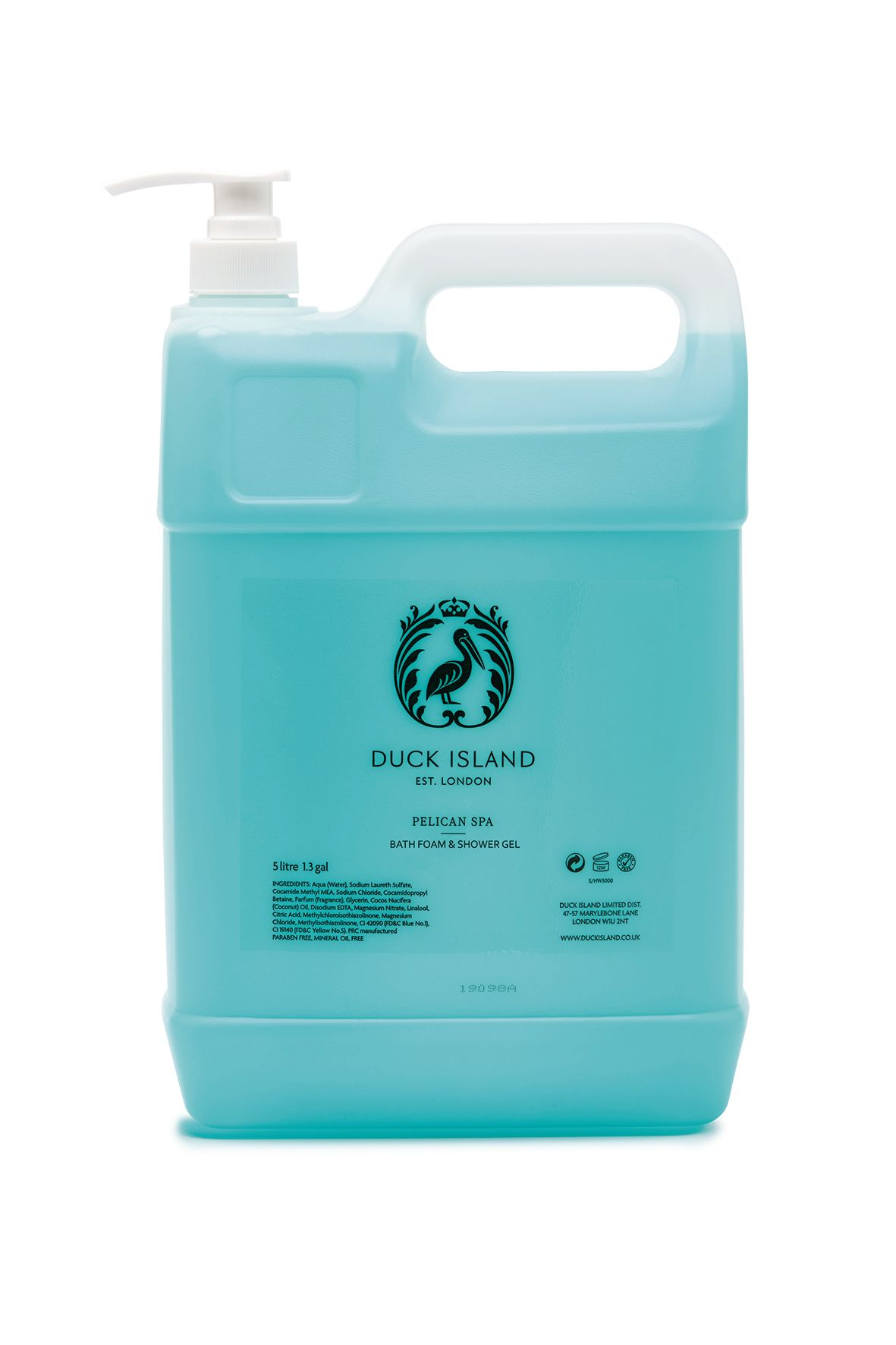 Duck Island Pelican Spa 5L Bath Foam