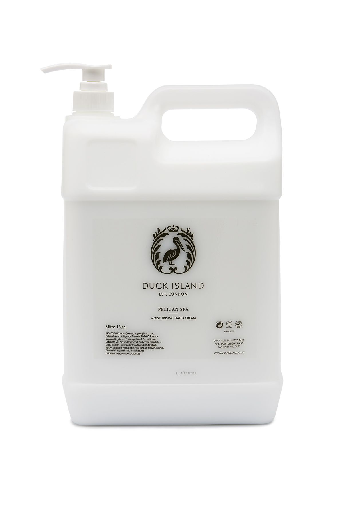 Duck Island Pelican Spa 5L Hand Cream